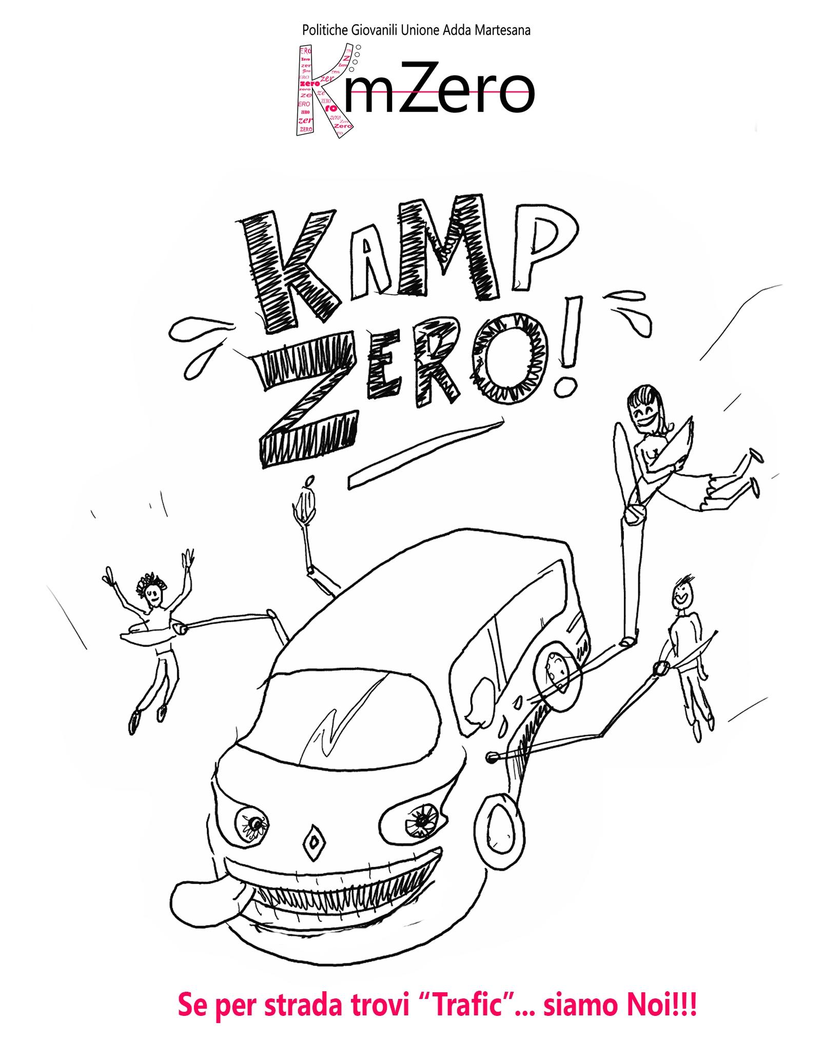 locandina Kamp zero 2018